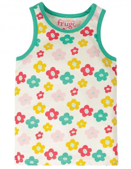 Frugi Unterhemd Vest FLOWERS (GOTS)