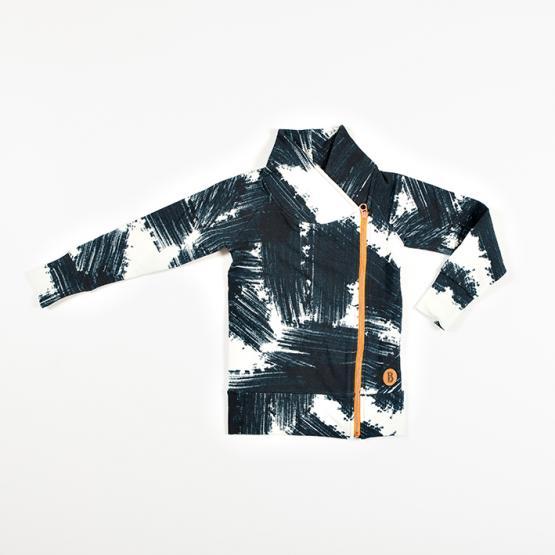 Blaa! Kids Zipper Jacket Smudge