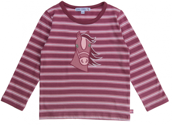Enfant Terrible Kinder Shirt Pferd (GOTS)