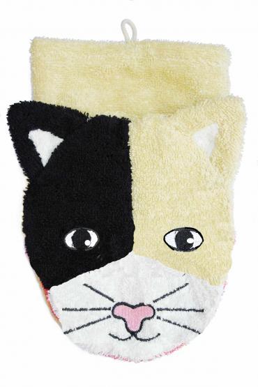 Fürnis BIO Wasch-Handschuh Katze groß