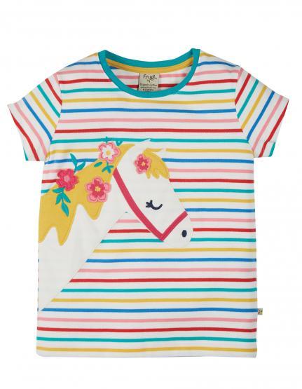 Frugi T-Shirt Horse (GOTS)