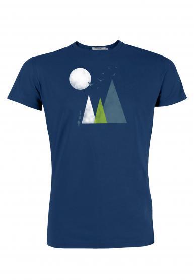 GreenBomb Herren T-Shirt Nature Hills (GOTS)