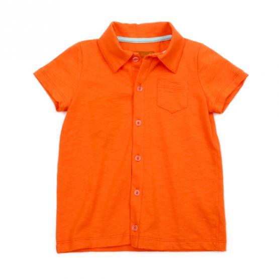 Lily Balou Shirt Jonathan Orange
