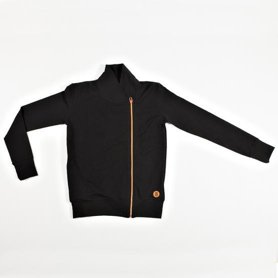 Blaa! Man Zipper Jacket Black