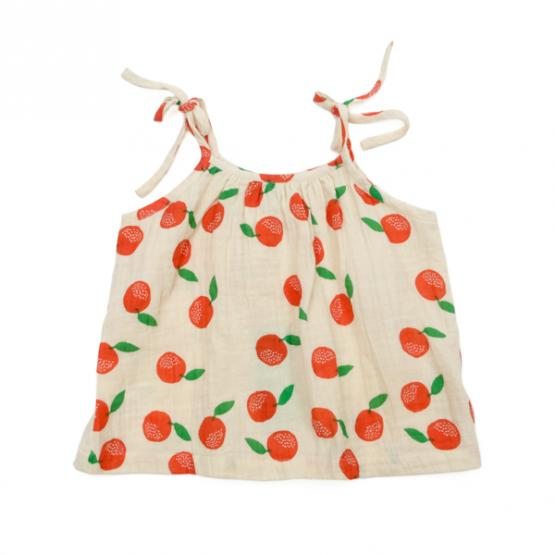 Lily Balou Muslin Top Lina Clementines