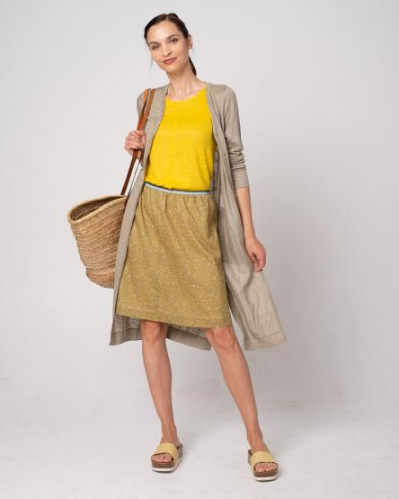 Alma & Lovis Linen Coat (GOTS)