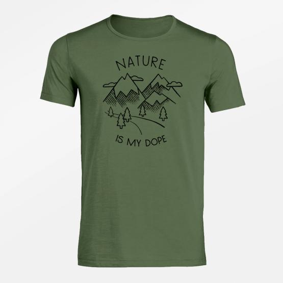 GreenBomb Herren T-Shirt Nature Dope (GOTS)