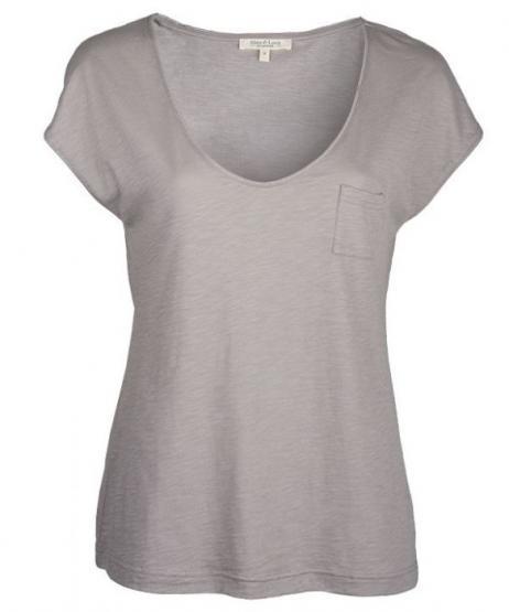 Alma & Lovis Shirt V-NECK (GOTS)