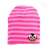 LipFish Kids Hat Monkey cerise/pink