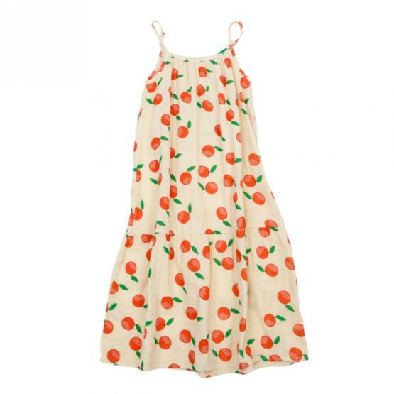 Lily Balou Muslin Dress Tirsa Clementines